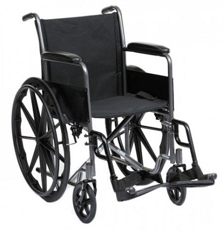 Drive Medical  Silver Sport Wheelchair  in Steel