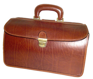 Executive Doctors Case - Antique Brown