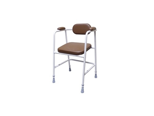 Perching Stool With Deeply Padded Seat