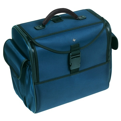 Doctors Bag with Deep Compartment Blue Without Shoulder Straps