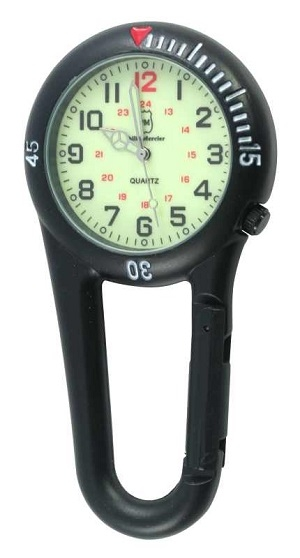 PM Clip Watch  Luminous Dial