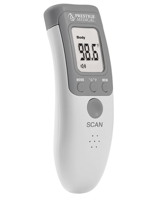 Infrared Non-Contact Forehead Thermometer White