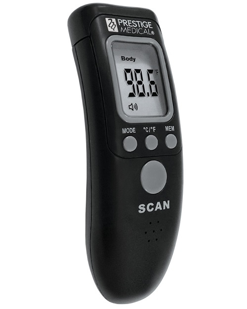Infrared Non-Contact Forehead Thermometer Black