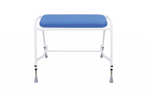 Bariatric Perching Stool PU Upholstery