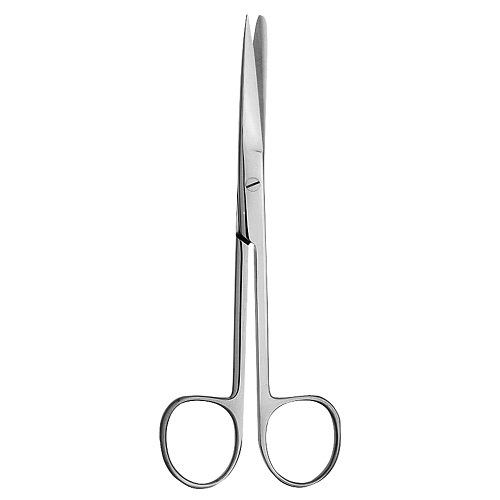 DEAVER  Scissors Curved  blunt/ Sharp 14.5cm