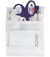 Five-Pocket Nurses Colour Co-Ordinated Organiser Set - Navy Blue