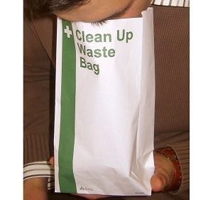 HypaClean Vomit Bags Pack of 25