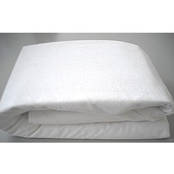 Incontinence Mattress Protector for Double  Size Bed White  Washable Size 200 cm x137 cm