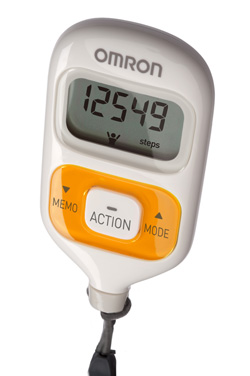 Omron Walking Style III Step Counter Pedometer