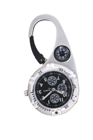 Paramedic Clip Watch Black