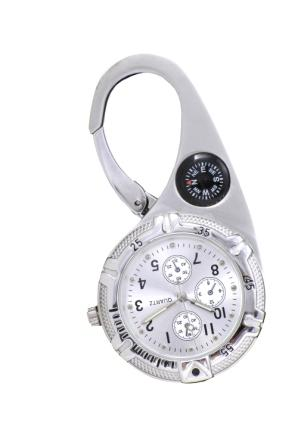 Paramedic Clip Watch - White