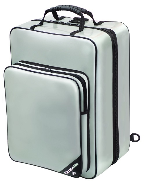 Silver Nurses Promed Bag With Shoulder Straps