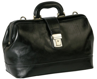 Tuscany leather bag in Black