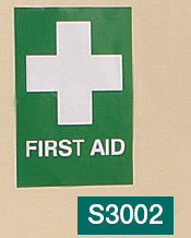 First Aid and White Cross Sign