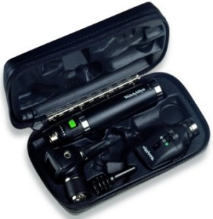 Welch Allyn Diagnostic Set Elite Set with Lithium ion handle and charger